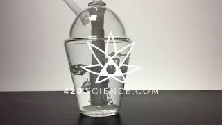 420 Science Grav Labs Slush Cup Slow Motion by 420 Science Club