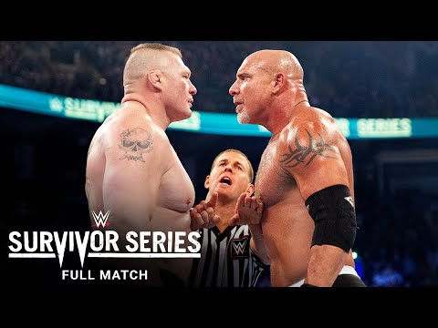 FULL MATCH - Goldberg vs. Brock Lesnar: Survivor Series 2016