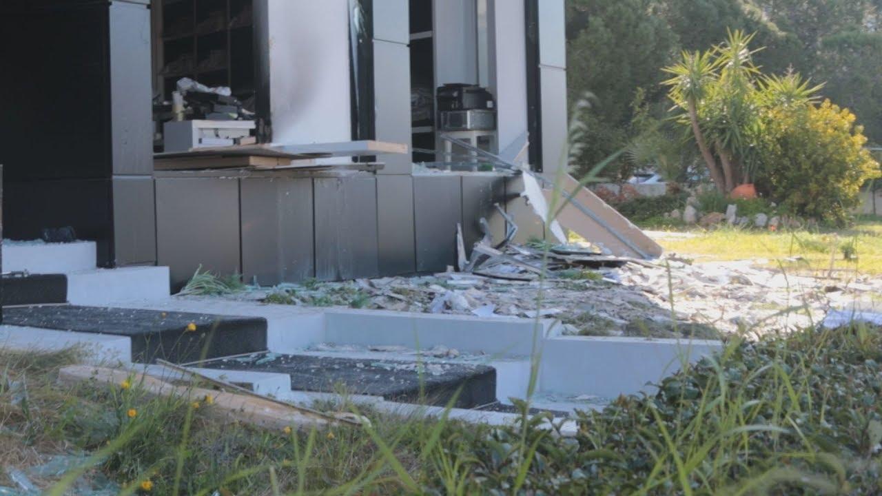 Ισχυρή έκρηξη σε κατάστημα υφασμάτων στη Γλυφάδα
