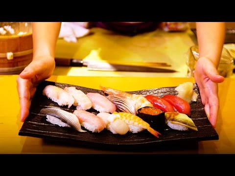 The One and Only All Female Sushi House in Tokyo, Japan