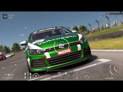 GT Sport Beta: Volkswagen Scirocco gr.4 Brands Hatch Gameplay!