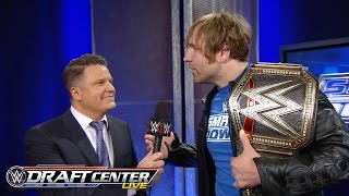 Nonton Wwe Champion Dean Ambrose Responds To Getting Drafted To Smackdown  July 19  2016 Film Subtitle Indonesia Streaming Movie Download