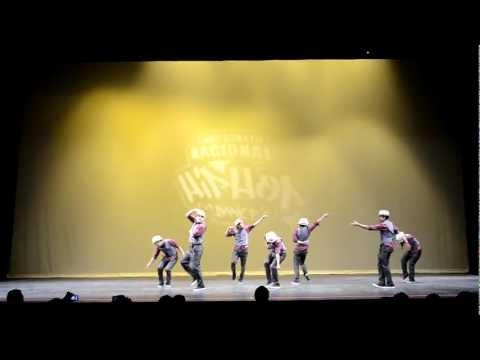 Creatorz (1er lugar) – Campeonato Nacional de Hip Hop Dance México 2012