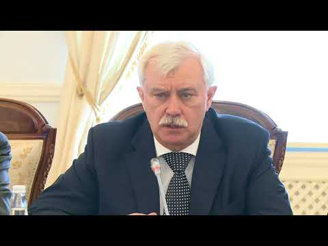 Președintele Republicii Moldova, Igor Dodon, a avut o întrevedere cu Guvernatorul Sankt Petersburgului, Gheorghi Poltavcenko