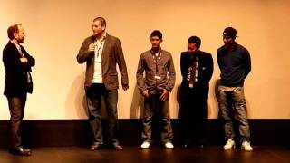 THE RAID (2011; Indonesia) Q&A With Gareth Evans, Iko Uwais, Joe Taslim TIFF - 1/2