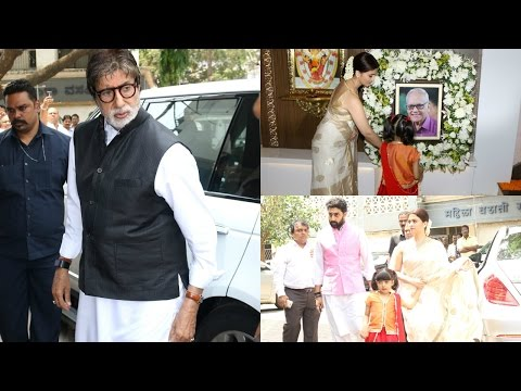 FULL VIDEO: Amitabh Bachchan | Abhishek Bachchan | Aishwarya Rai | At Krishnaraj Rai Prayer Meet