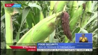 KTN Prime: Kenya needs a policy to address Food security, 26/10/16