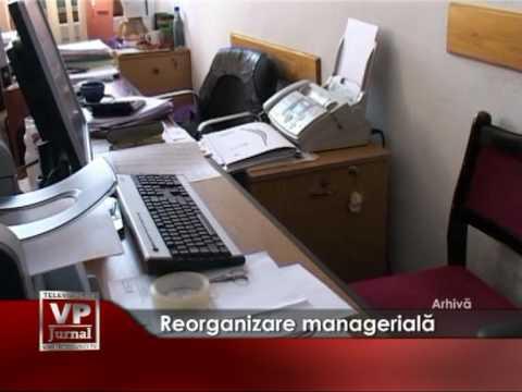 Reorganizare manageriala