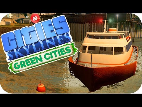 Cities: Skylines Green Cities ▶NEW BAE FRONT HOUSING◀ Cities Skylines Green City DLC Part 47