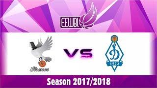 Hoptrans Sirenos – Dynamo Moscow – EEWBL 14.01.18. Kaunas