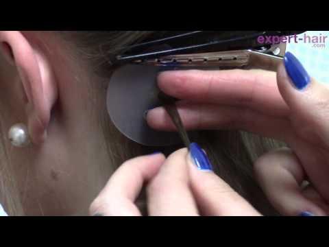 comment poser des extensions a la keratine