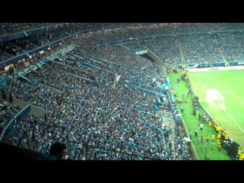 Arena do Grêmio - Primeiro Gol! Primeira Avalanche! - Grêmio 2 x 1 Hamburgo - 08/12/2012 - Geral do Grêmio - Grêmio