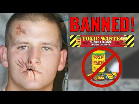 10 Banned Candies That Are Very Dangerous To Eat