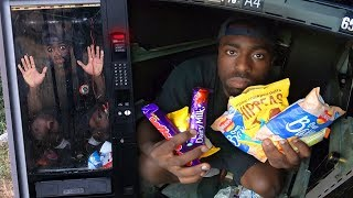 I was locked inside a VENDING MACHINE.. (goes wrong)