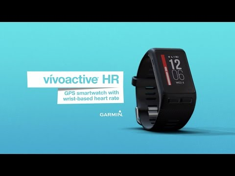 Garmin vivoactive HR with wrist-based heart rate