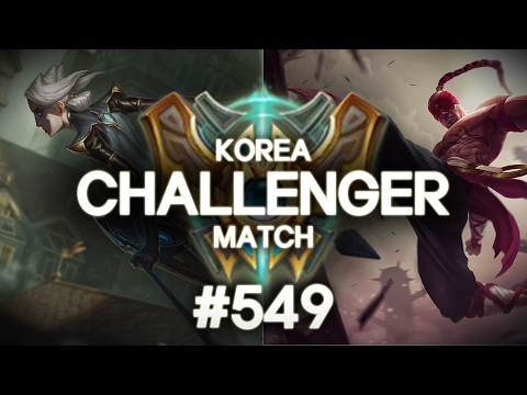 韓服菁英對決 #549 | Faker, Hyunwoo, Ruler, Add, GorillA, ADD