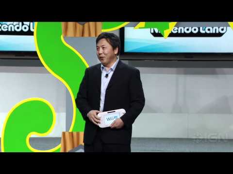 nintendo land e3 2012 - The Wii U's Nintendo Land is formally announced at E3 2012! Get the hottest videos from E3 2012 on our playlist http://www.youtube.com/playlist?list=PLE19672...