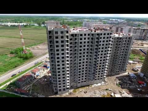 """Квартиры в ЖК """"Правый Берег 3"""" в (СПБ), Всеволожский район"""