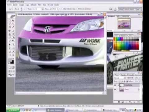 Videotutorial Cómo hacer digital tuning con photoshop en los coches