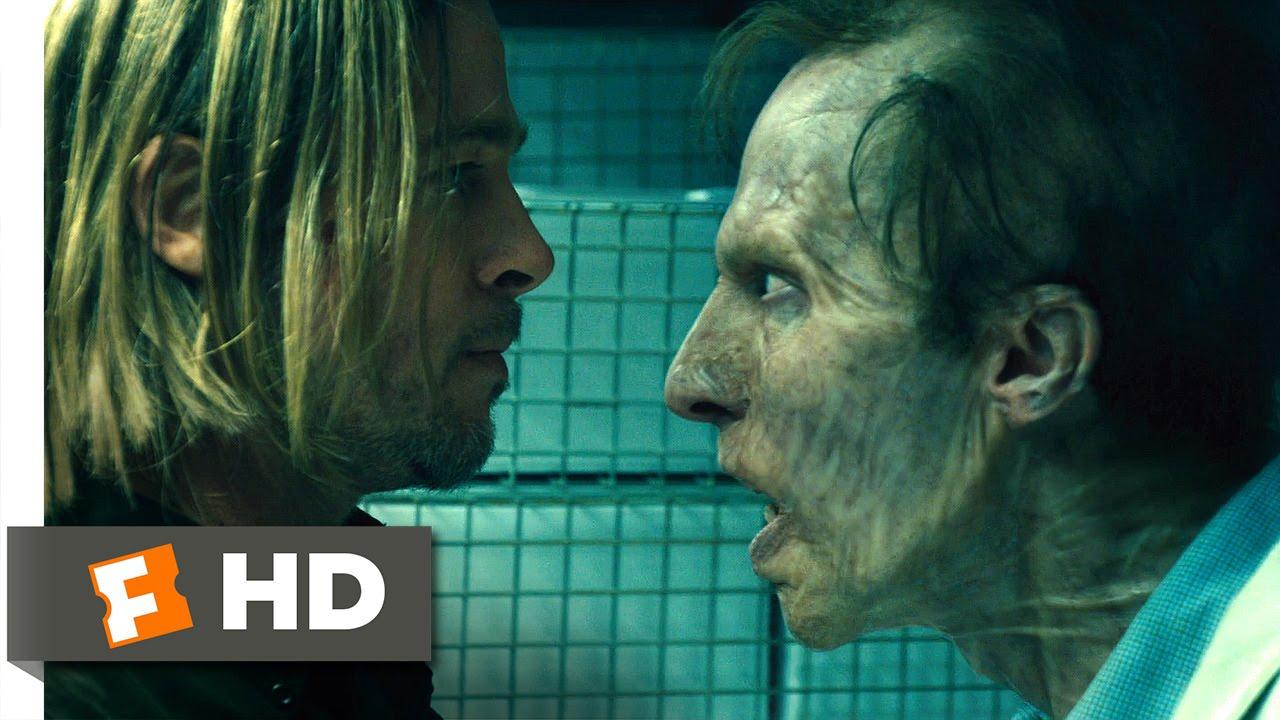 World War Z (9/10) Movie CLIP - Zombie Camouflage (2013) HD