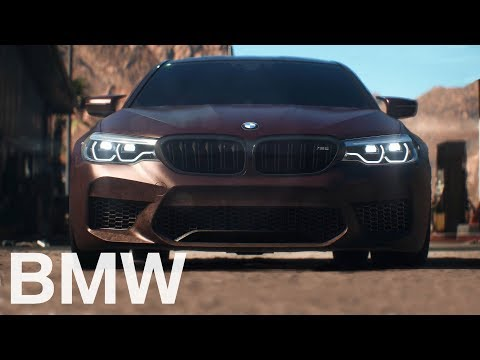 The all-new BMW M5 (2017) in Need for Speed Payback