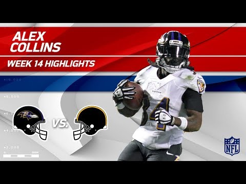 Video: Alex Collins Powers Ahead for 120 Yards & 1 TD! | Ravens vs. Steelers | Wk 14 Player HLs