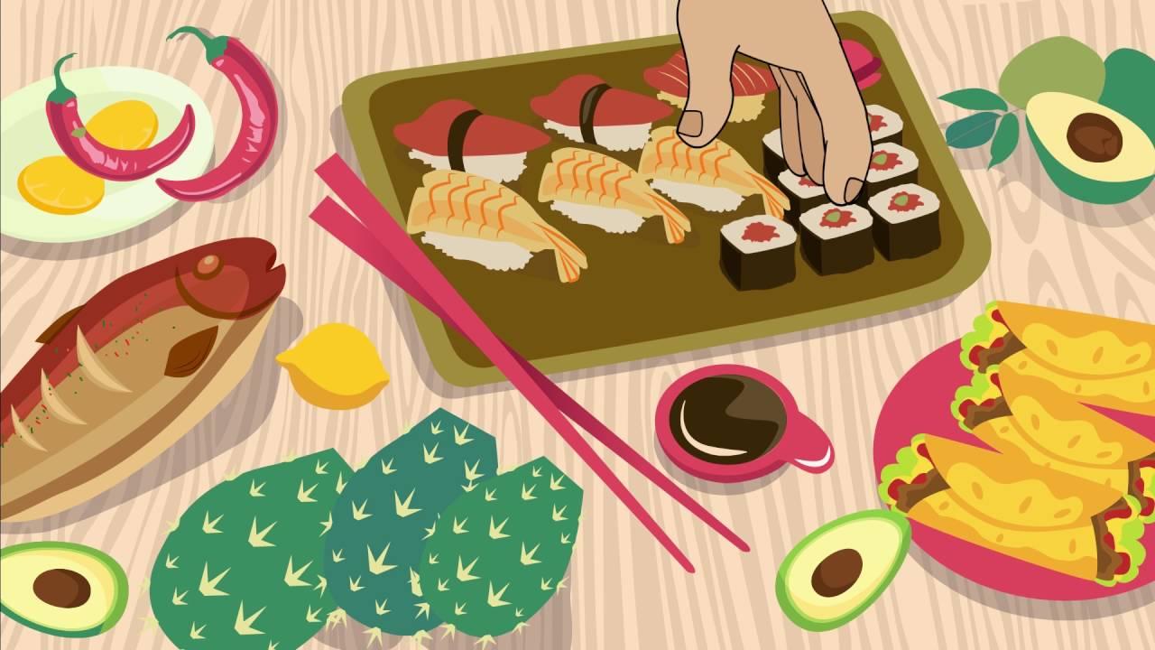 Cactus Senshi Sushi Explainer Animation