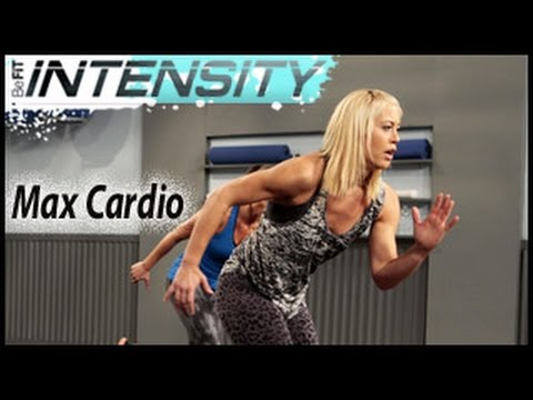 befit - BeFiT Intensity: Max Cardio Challenge Workout with Lacey Stone is a high-octane, 25-minute circuit fat-burning cardio workout that employs a high-intensity b...
