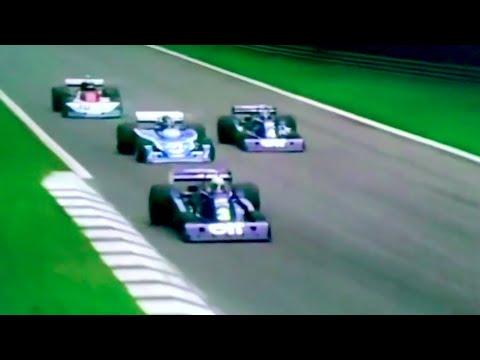 F1 1976 Monza [60fps] Start & First laps / Niki Lauda's Comeback