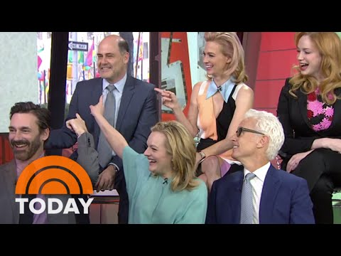 Which 'Mad Men' Cast Member Blew The Most Lines? | TODAY