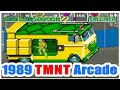 1989 Teenage Mutant Ninja Turtle Tmnt Arcade Old School