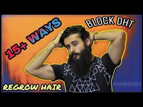 Beard oil - How To Reduce DHT & Regrow Hair  Bearded Chokra