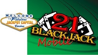 Jackpot Capital Mobile Casino Introduces New Mobile Blackjack Card Game