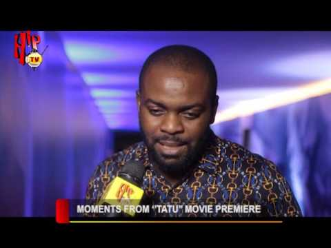"MOMENTS FROM ""TATU"" MOVIE PREMIERE (Nigerian Entertainment News)"