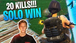 Tfue And Cloakzy's BEST MATCH EVER! - 20 KILL VICTORY ROYALE!