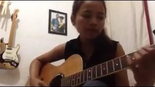 Ray Peni Takut Jak Bojog ( Cover By Elina Dewi Gecx Acoustic Guitar )