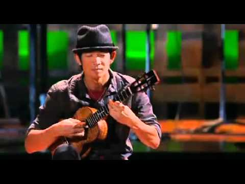 ukulele - Jake Shimabukuro strums monster sounds out of the tiny Hawaiian ukelele, as he plays a cover of Queen's