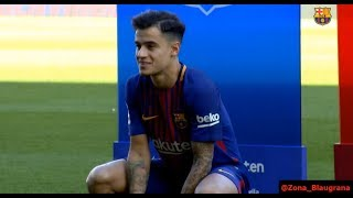 Download Video Presentación de Coutinho en el Camp Nou. 08/01/2018 MP3 3GP MP4