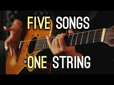 Five Songs | One String! - Thời lượng: 111 giây.