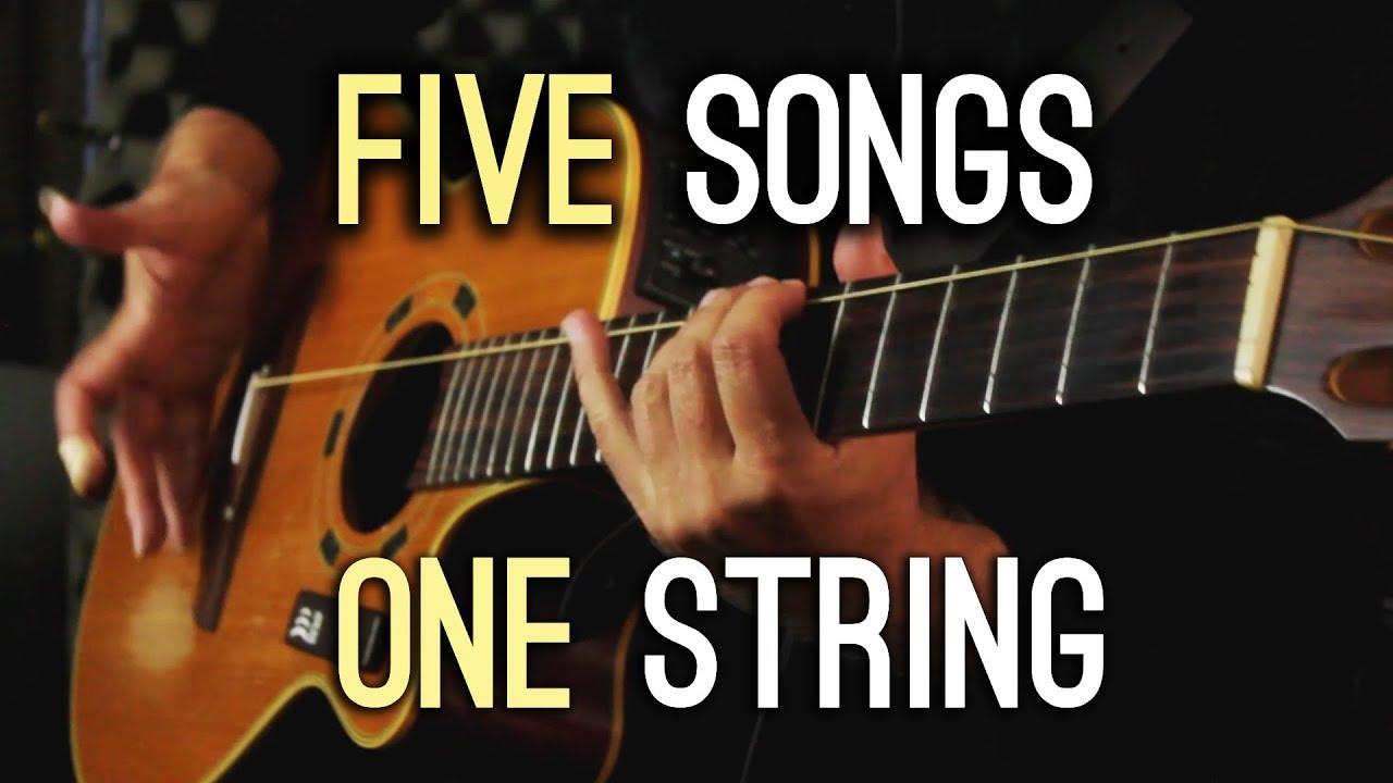 Five Songs | One String – 5 songs on 1 string guitar – Igor Presnyakov