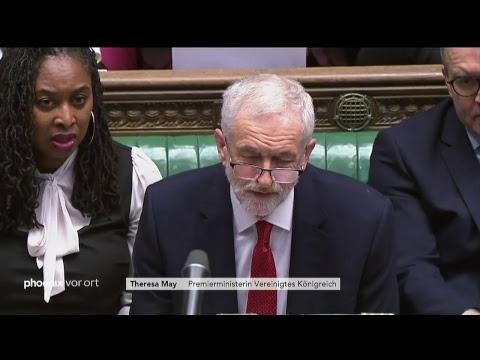 Fragestunde im britischen Parlament am 09.01.19