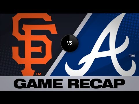 Video: Braves clinch 2nd straight NL East title | Giants-Braves Game Highlights 9/20/19