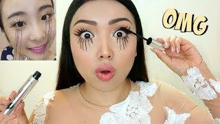 Video EXTREME LASHES Viral Asian Mascara Tested !!! MP3, 3GP, MP4, WEBM, AVI, FLV November 2018