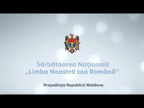 """Mesajul Președintelui Republicii Moldova, Maia Sandu, cu prilejul Sărbătorii Naționale """"Limba noastră cea Română"""""""