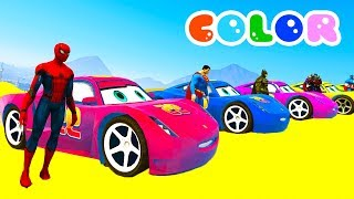 Video Learn Colors for Kids with 3D Lightning McQueen & Monster Truck - Disney Cars 3 2017 Cartoon MP3, 3GP, MP4, WEBM, AVI, FLV November 2017