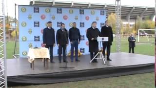 Старт будівництва стадіону УЄФА Хет-трік, 21.10.2015