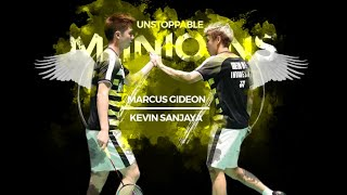 Video Best Doubles Badminton Pair on Earth | Best of Kevin Sanjaya & Marcus Gideon 2018 | Rallies & Skills MP3, 3GP, MP4, WEBM, AVI, FLV Mei 2019
