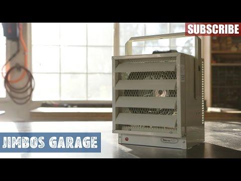NewAir G73 Garage Heater Install - Jimbos Garage