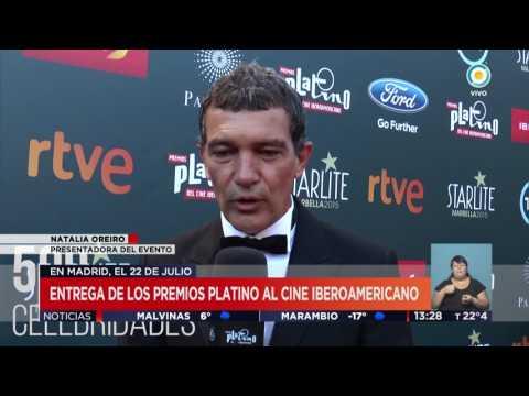 Наталя Ореиро кондакирá лос Премёс платино | ТВПúбликаНотикяс