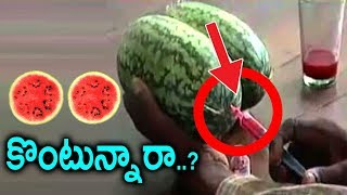 Video పుచ్చకాయ కొనేటప్పుడు తప్పకుండా ఇక్కడ చూడండి Beware Of Watermelon Fruit When You are Buying Sumantv MP3, 3GP, MP4, WEBM, AVI, FLV April 2018